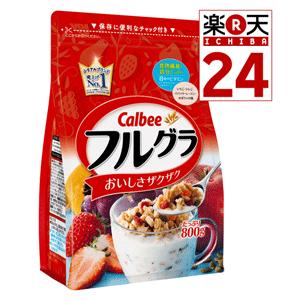 Calbee卡乐比麦片 800g×6袋售价4966日元