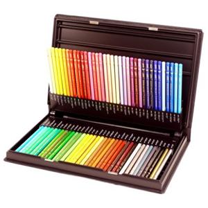 日本高端三菱铅笔 Uni系列油性彩色铅笔 72色