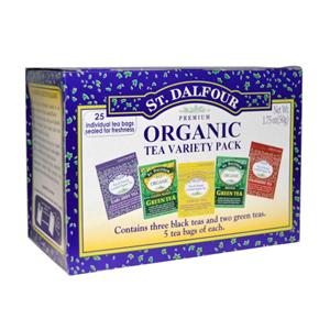 St. Dalfour 有机茶包 五种口味组合装25包