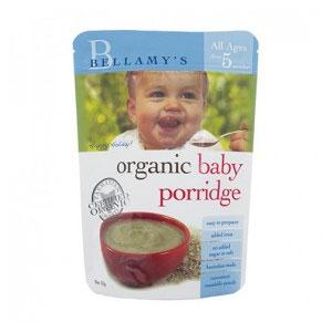 新低!Bellamy's 贝拉米 婴幼儿有机粥(5个月以上)125g