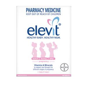 Elevit爱乐维孕妇维生素叶酸营养片 100片