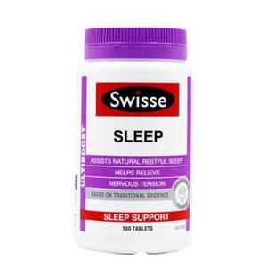 Swisse安定睡眠片安眠片成人100粒