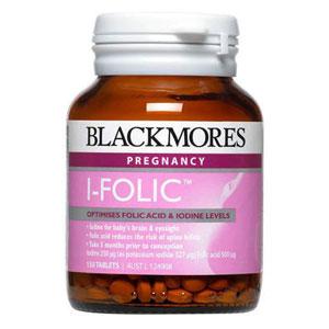 Blackmores澳佳宝I-Folic 碘加叶酸营养片 150片