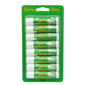 Sierra Bees海棠茶树精华有机润唇膏 8支