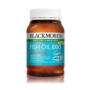 BLACKMORES澳佳宝天然深海鱼油 1000毫克 200粒