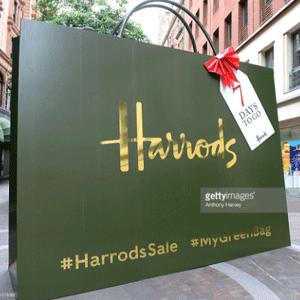 英国Harrods百货周末特惠会员额外9折