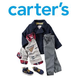 Carter's卡特官网哥伦布日促销全场5折