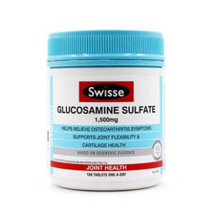 澳洲Swisse氨基葡萄糖维骨力关节灵片 1500mg*180粒