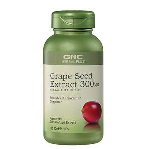 GNC 健安喜葡萄籽精华 300mg*100粒