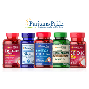 Puritan's Pride普丽普莱官网精选产品买1送1/买2送3大放送
