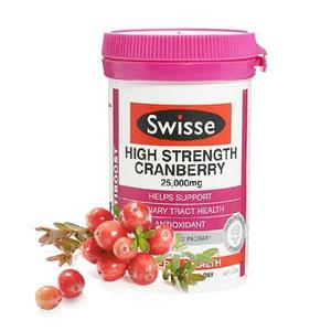 Swisse高浓度蔓越莓胶囊精华30粒装