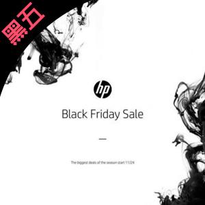 HP惠普美国官网2016黑五促销海报发布