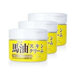 LOSHI 北海道马油面霜 220g*3罐装