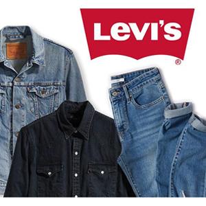 Levi's李维斯官网有精选牛仔单品满$100额外7折活动
