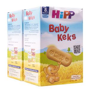 凑单品!Hipp 喜宝 婴儿饼干 150g 2盒装
