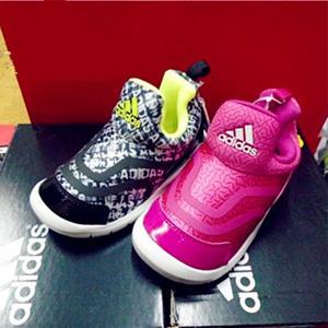Adidas阿迪达斯小海马大童款运动鞋 黑红两色