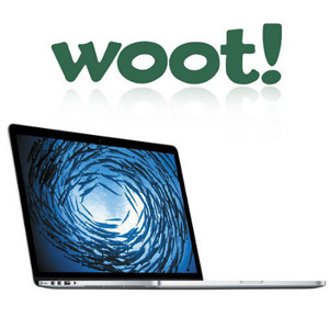 woot现有Apple Macbook Pro笔记本专场