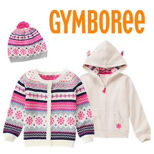 Gymboree金宝贝冬季特卖全场低至2折+满$100减$25