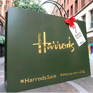 Harrods百货圣诞大促服饰鞋包额外7折