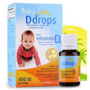 Ddrops 婴儿维生素d3滴剂 90滴