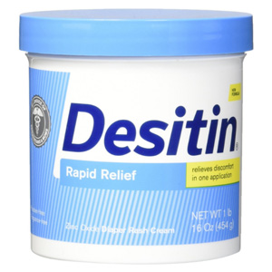 Desitin 婴儿尿布疹护臀膏 快速缓解 454g
