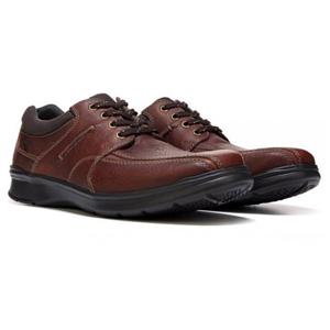 Clarks 其乐 男士真皮健步休闲鞋 两色