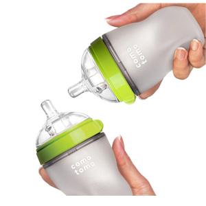 Comotomo 可么多么 硅胶软性奶瓶 250ml*2个