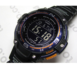 Casio 卡西欧 SGW-100-2BCF 双重感应 男士户外腕表