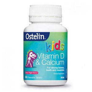 Ostelin 儿童维生素D+钙咀嚼片 50片