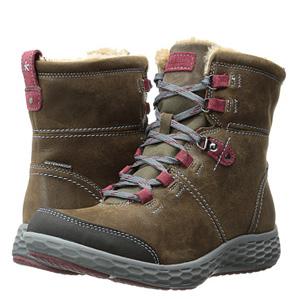 Rockport 乐步 女士真皮防水登山靴 两色