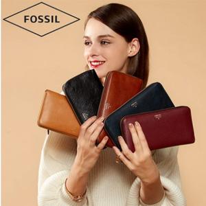 双12预告,Fossil 化石 女士真皮钱包 多色