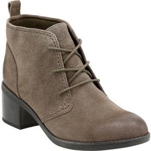 Clarks 其乐 女士系带真皮短靴
