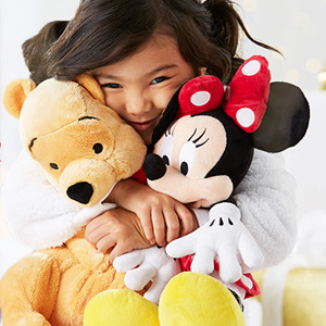 Disneystore迪士尼美国官网有精选毛绒玩偶专区