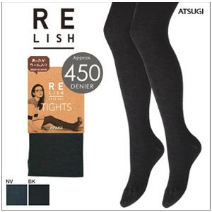 ATSUGI厚木 450D 混羊毛连裤袜