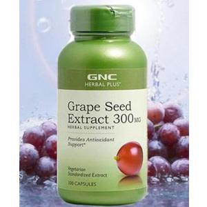 GNC健安喜 葡萄籽精华 100粒装和鱼油 60粒装