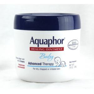 Aquaphor优色林 宝宝万用修复霜 396g*4罐