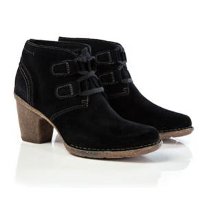 Clarks其乐女款高跟绒面皮鞋 两色