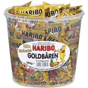 凑单品!HARIBO哈瑞宝 迷你小熊软糖 1桶