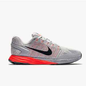 Nike耐克Lunarglide 7 登月 女士缓震跑步鞋 灰