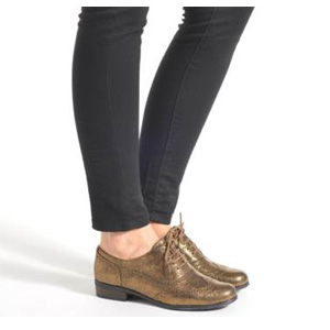 Clarks其乐 Hamble Oak 布洛克雕花女鞋