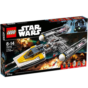 LEGO乐高 星球大战 75172 Y翼星际战机