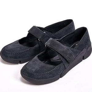 Clarks其乐Tri Amanda三瓣凉鞋黑色