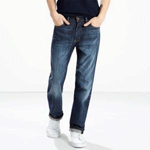 Levi's 李维斯513 Slim Straight男士修身长裤