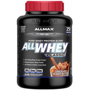 ALLMAX Nutrition AllWhey Classic纯乳清蛋白粉 巧克力口味 2.27kg
