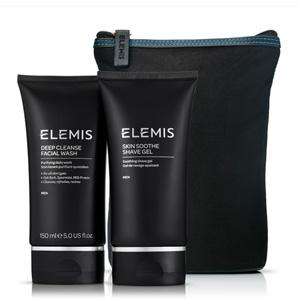 ELEMIS艾丽美 男士清洁套装(深层洁面乳150ml+舒缓剃须啫喱150ml)