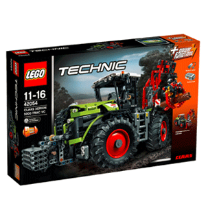 Lego乐高 42054 机械组 Claas Xerion 5000型拖拉机