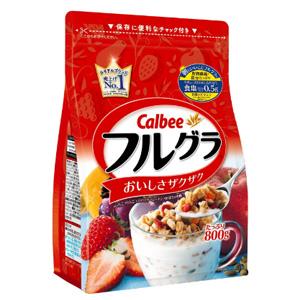 Calbee 卡乐比 水果谷物麦片800g×6袋