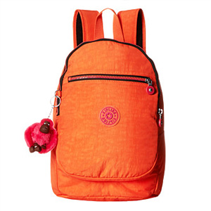 Kipling凯浦林Challenger双肩背包 橙色