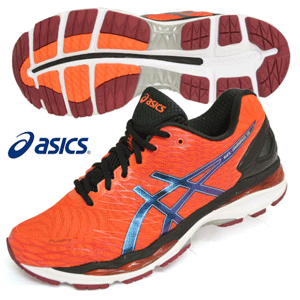 ASICS 亚瑟士 GEL-NIMBUS 18 TJG740 男士运动跑鞋*2双