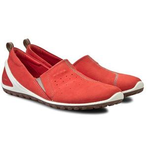 ECCO爱步 BIOM 女士轻巧休闲鞋 红色